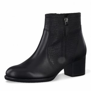 Bottines zippées akaria face Tamaris