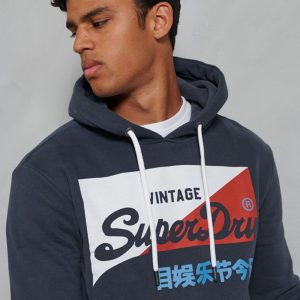 Sweat vintage brossé Superdry