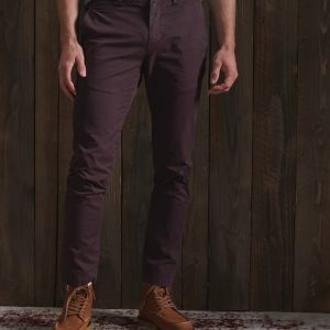Pantalon chino slim Superdry